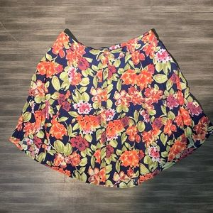 Like New UO Kimchi Blue Floral Skirt
